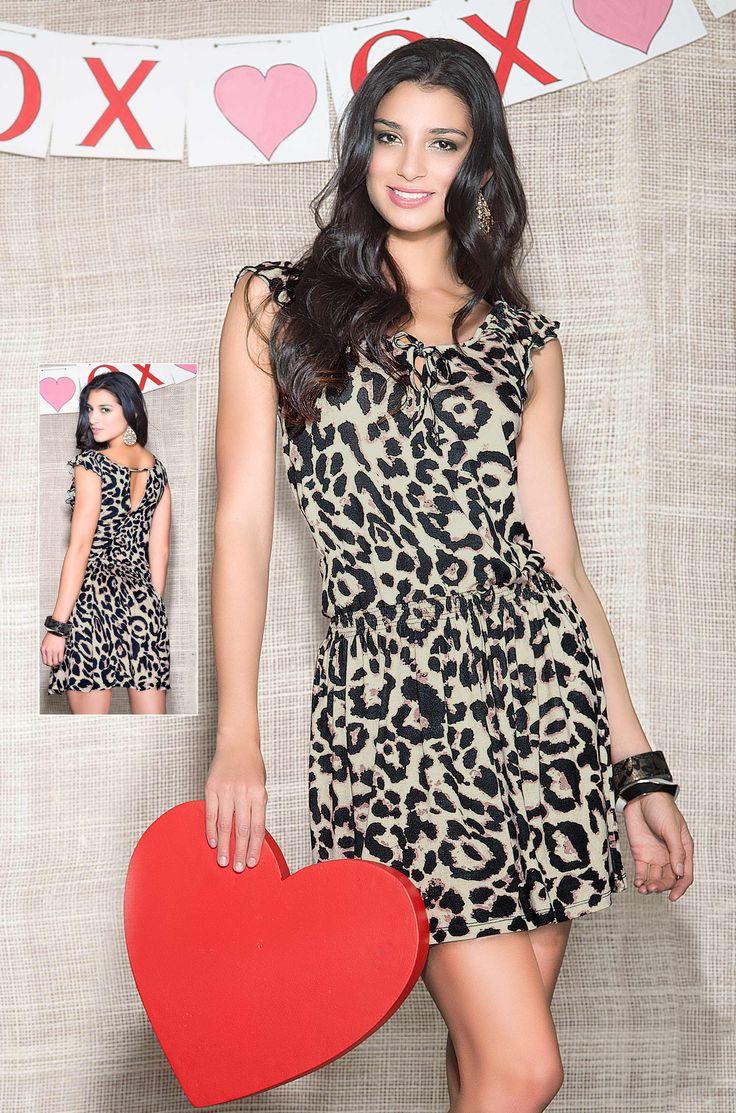 ¡Dupree trae moda femenina fascinante en esta campaña!  #moda #tendencias #animalprint