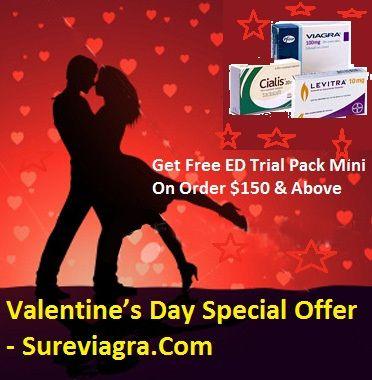 Valentine's Day Special Offer - Sureviagra.Com