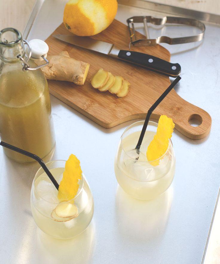 Ingwer-Zitronen-Sirup - Grundlage für die besten Sommerdrinks