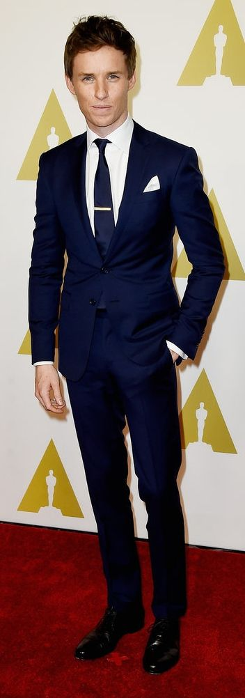 Eddie Redmayne at the Academy Awards Nominees Luncheon