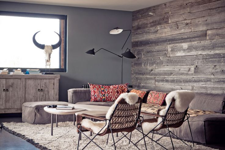 Design Inspiration Monday by Dream Book Design.  The wooden wall is so crafty!  Maybe add a big mirror to reflect light?