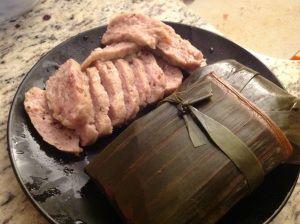 VIETNAMESE PORK ROLL – CHẢ LỤA  a/k/a Vietnamese pork roll or Vietnamese ham for use on Banh mi, etc.