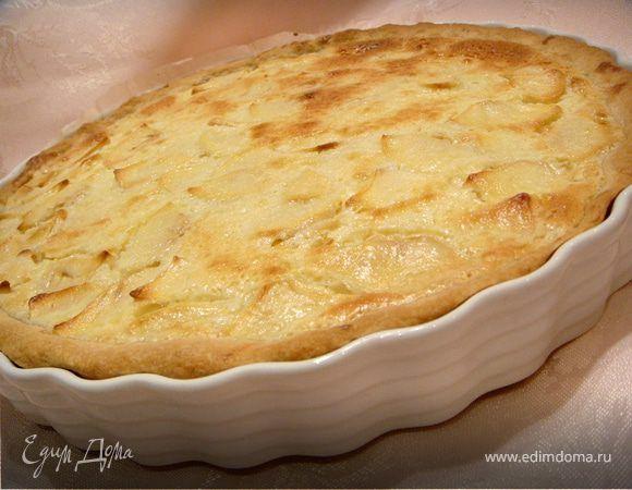 Цветаевский яблочный пирог. Ингредиенты: пшеничная мука, разрыхлитель, сливочное масло | Официальный сайт кулинарных рецептов Юлии Высоцкой