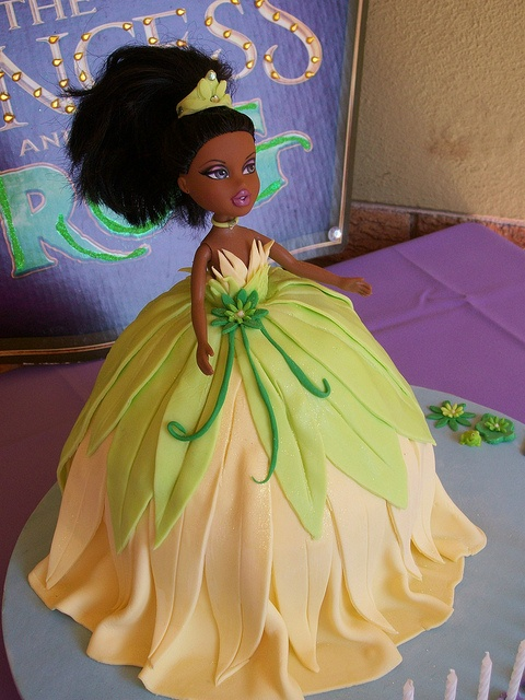 """Princess Tiana's beautiful dress..."""