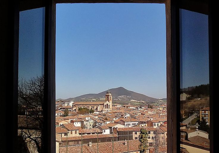 View of the town center in Fabriano from the Complex of St. Benedetto - Marche - Italy   photo by Andrea Bevilacqua.