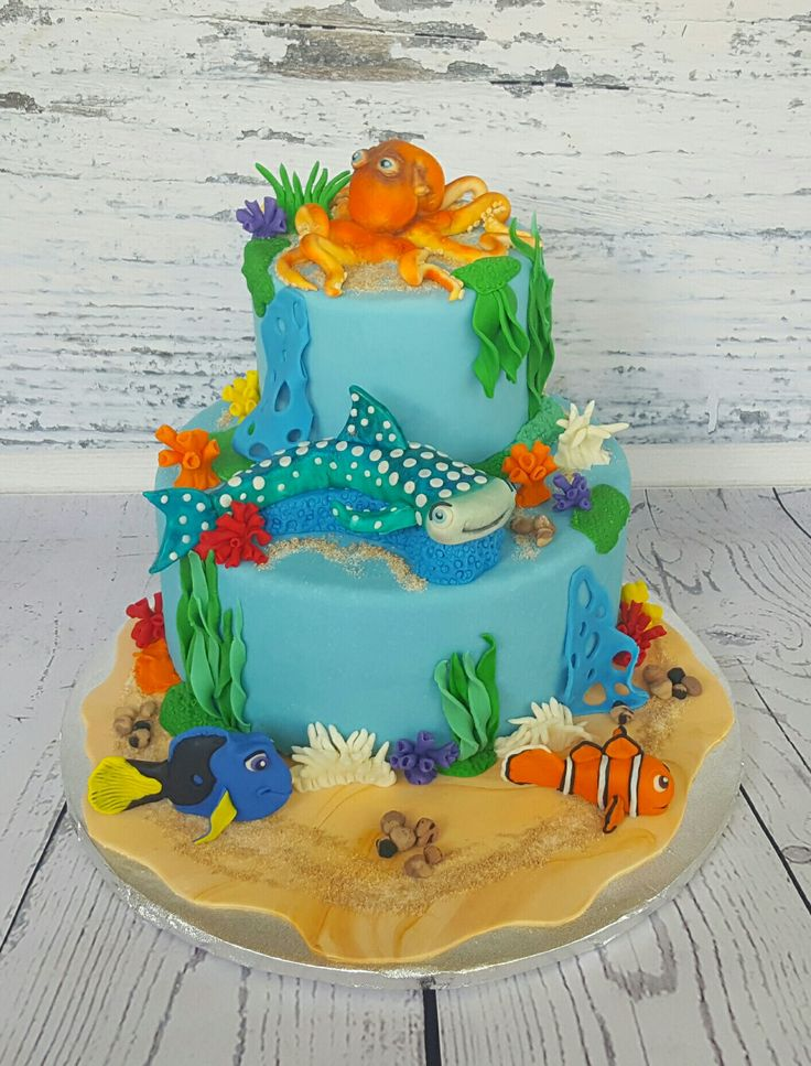 Findy Dory cake