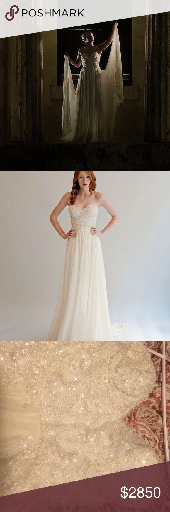 I just added this listing on Poshmark: Leanne Marshall Isabella Wedding Dress. #shopmycloset #poshmark #fashion #shopping #style #forsale #leanne marshall #Dresses & Skirts