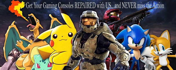 Game gadget repairs in UK Playstation, Xbox and Nintendo