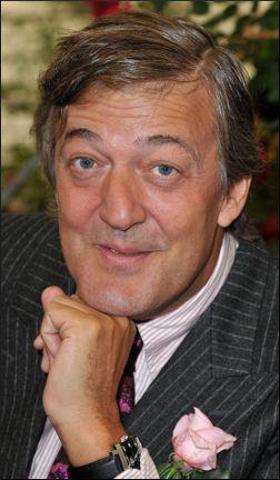 Stephen Fry - Former QI presenter.. BAFTAs
