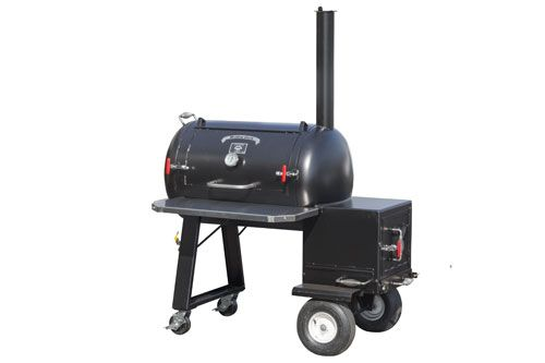 Offset Smoker | Reverse Flow Smoker | Commercial Smokers
