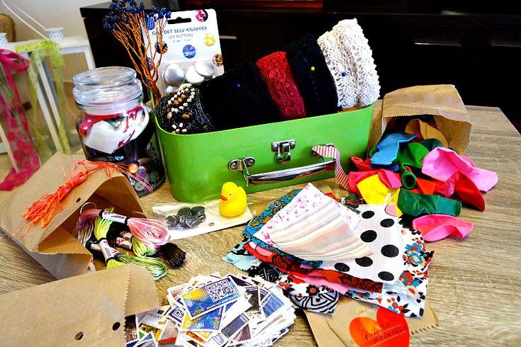 Ένα Craft Kit γεμάτο υλικά χειροτεχνίας από το In My Closet.