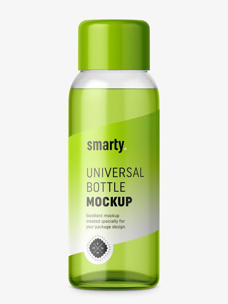 30 ml bottle mockup / transparent