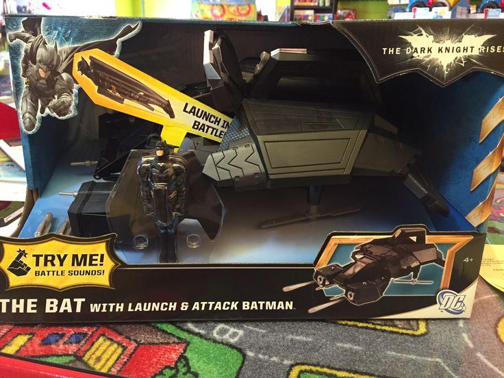 Batman la chauve-souris, 29.99$,  Disponible dans la boutique St-Sauveur (Laurentides) Boîte à Surprises, ou en ligne sur www.laboiteasurpr... sur notre catalogue de jouets en ligne, Livraison possible dans tout le Québec($) 450-240-0007