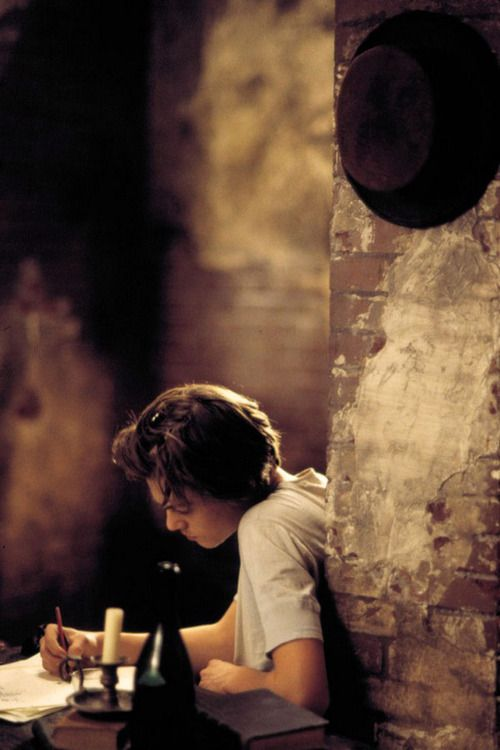 """Leonardo DiCaprio (Arthur Rimbaud) in """"Total Eclipse"""" (1995) 