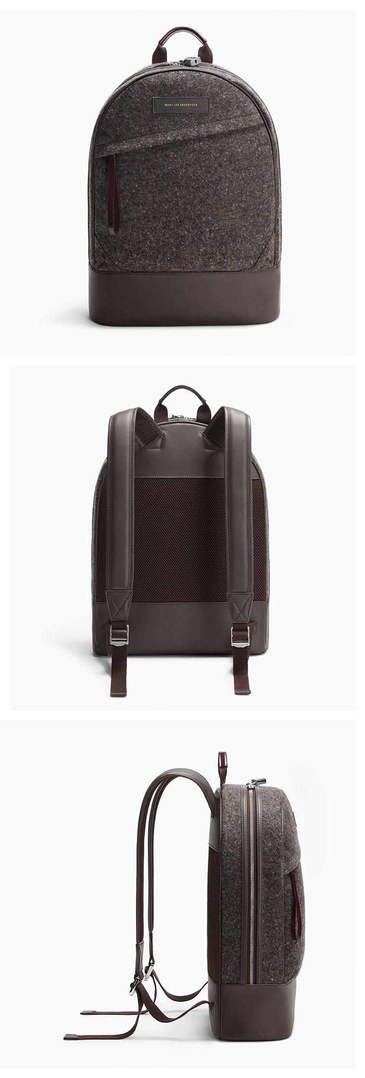 A/W 16 Kastrup backpack in Multi Blanket Drill