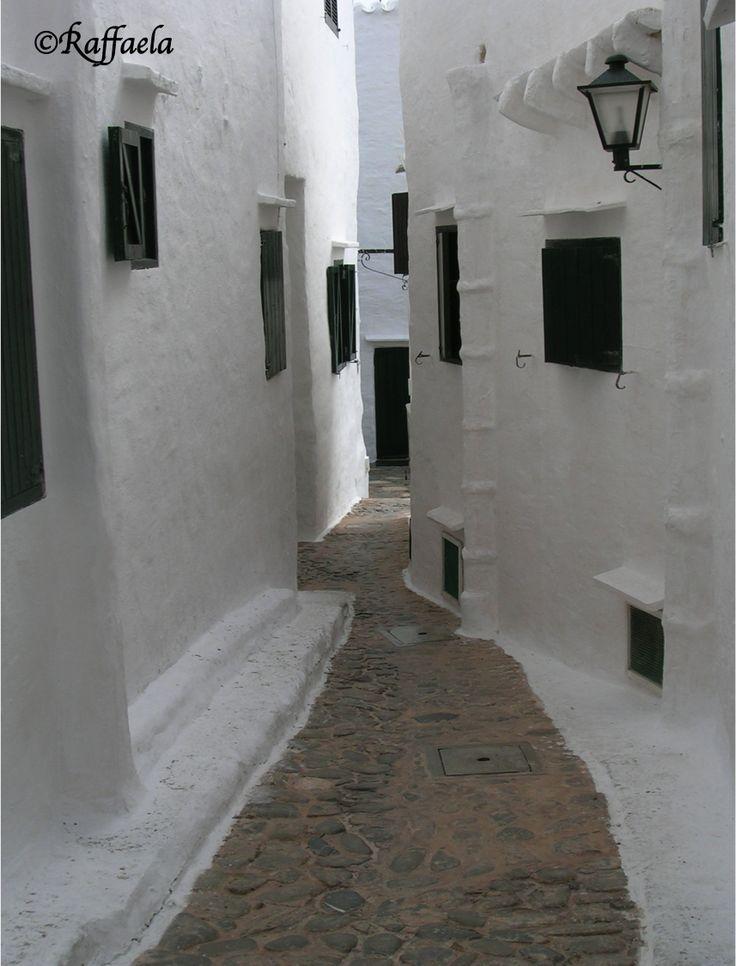 Bianca Minorca, Baleari, Spagna  1° punto di vista