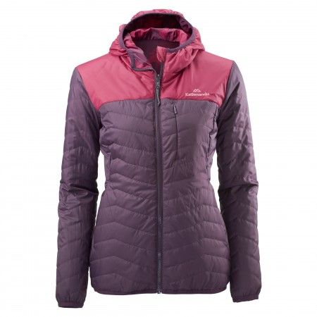 Seymour Reversible Women's Synthetic Insulated Jacket - Black Cherry