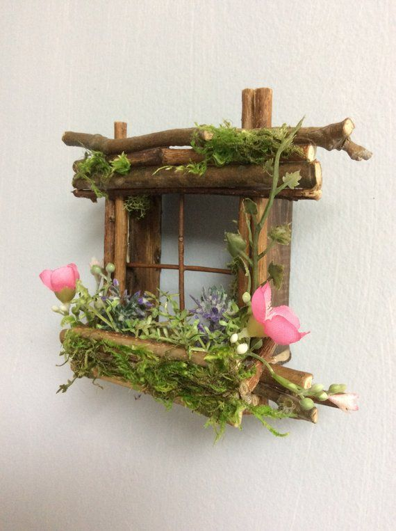 Mini Fairy Window 2 1/2 inches by 2 1/2 inches size …