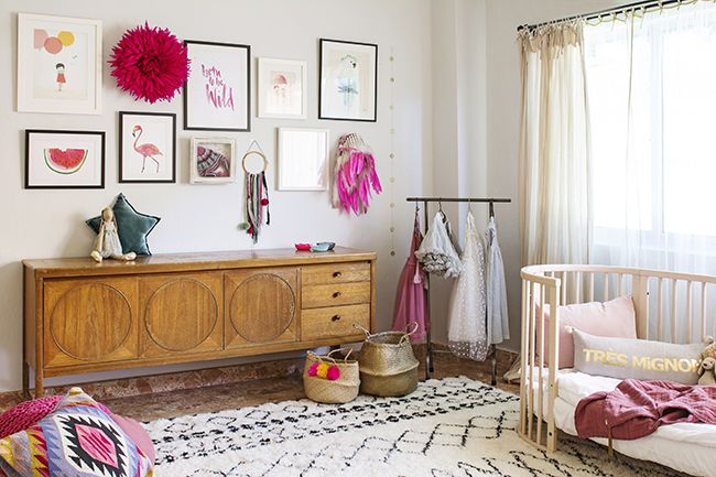 Have you ever wondered how the owners of Cuckoo Little Lifestyle, Emily and Francesca, might style their own kids rooms? I've wondered for a while (occupational habit!) and last week I had the chance to visit their homes to see for myself. The Cuckoo Little