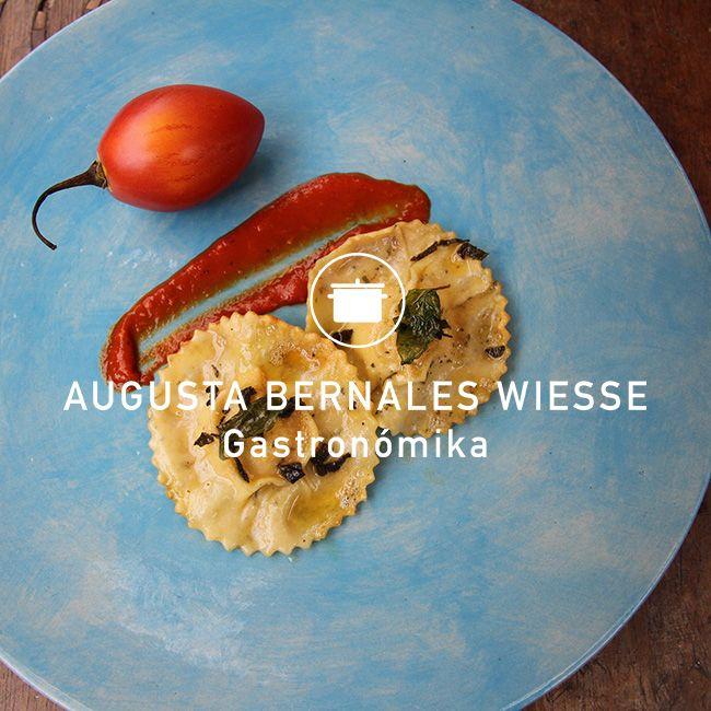 Ravioli de pollo y salvia http://www.augustabernalesgastronomika.com
