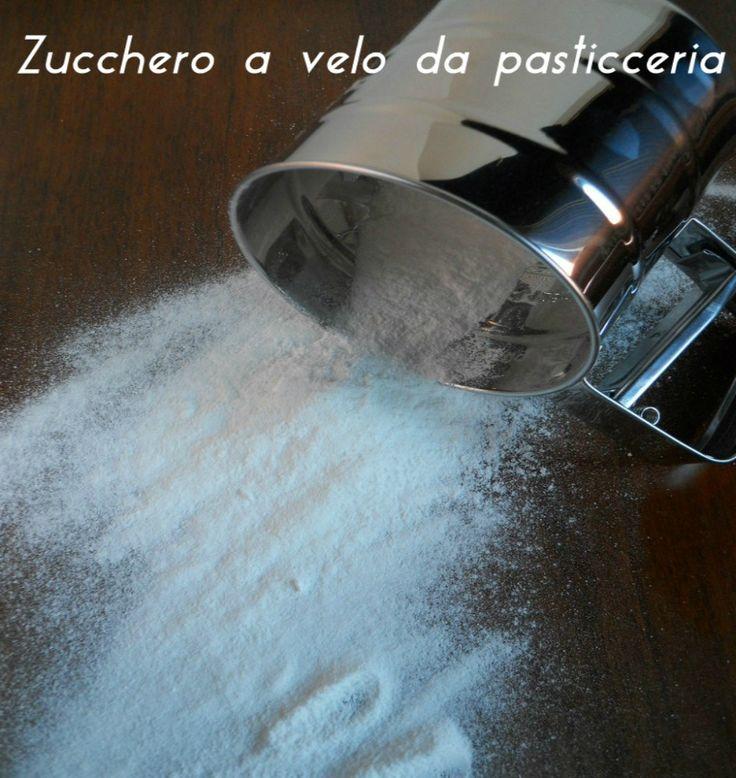 zucchero a velo da pasticceria