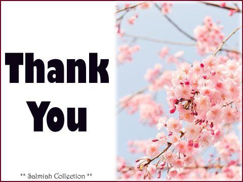 Salmiah Collection: Thank You Card 25