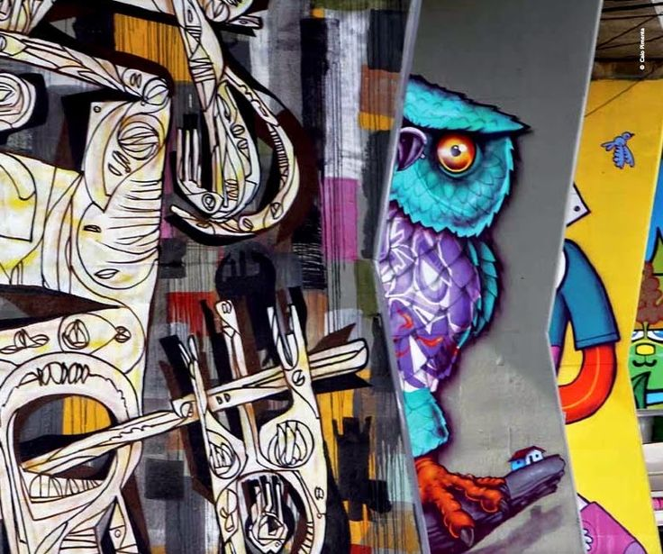 O Blog da Nátali: Roteiro Arte Urbana