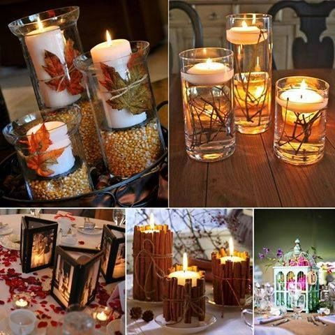 Great ideas / candles / holiday themes / Fall / Christmas / Winter / Spring / Easter