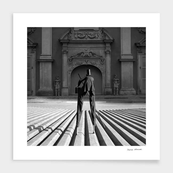 """""""Visitor"""", Numbered Edition Fine Art Print by Dariusz Klimczak - From $39.00 - Curioos"""