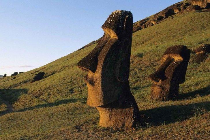 Easter Island, Moai Statues, Chile