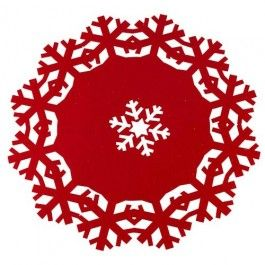 32cm diameter approx. Red only. Matching items available.