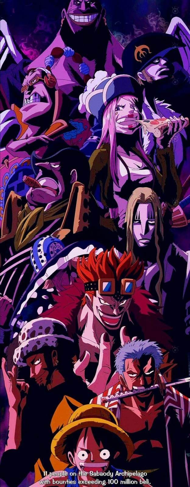 ONE PIECE, The 11 Super Novas, The Rookie pirates, Monkey