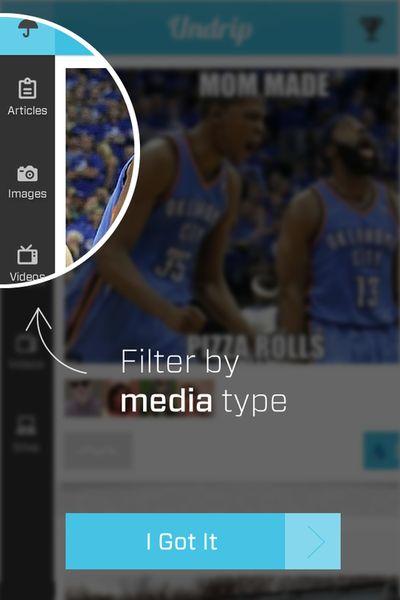 filtermenu - Undrip