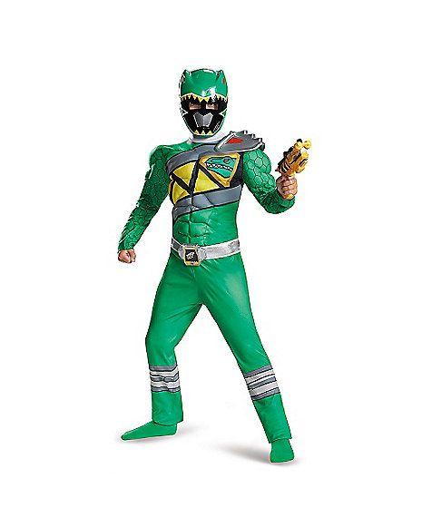 Power Rangers Dino Charge Green Ranger Costume - Spirithalloween.com