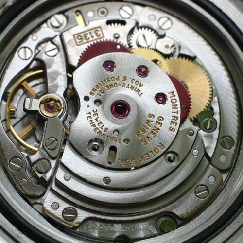 The inside of a Rolex Submariner - now there's a whole lot ...
