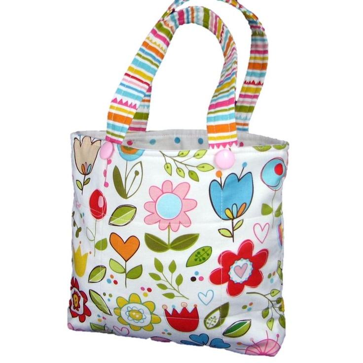 $20.00 Little Girls Handbag by TwoLittleMonkeys on Handmade Australia