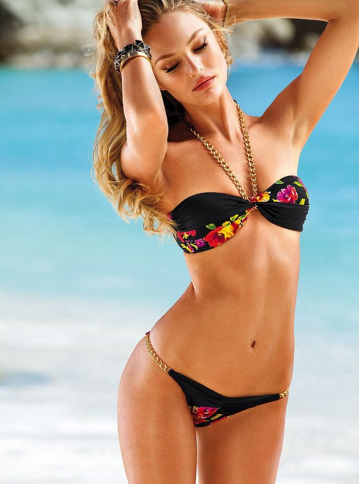 Candice for Victoria's Secret Swimwear 2013:
