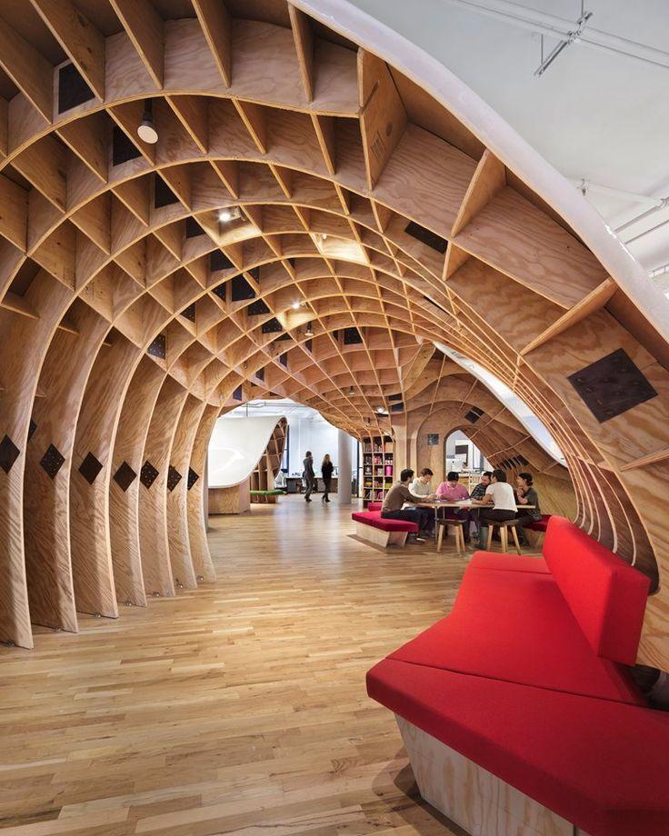The Barbarian Group, New York, 2014 - Clive Wilkinson Architects #office #workplace