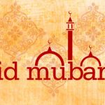 2014 Eid Mubarik To All Muslims Facebook Timeline Cover Photo