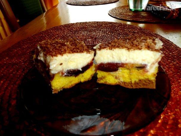 Obrátený slivkový koláč (fotorecept)