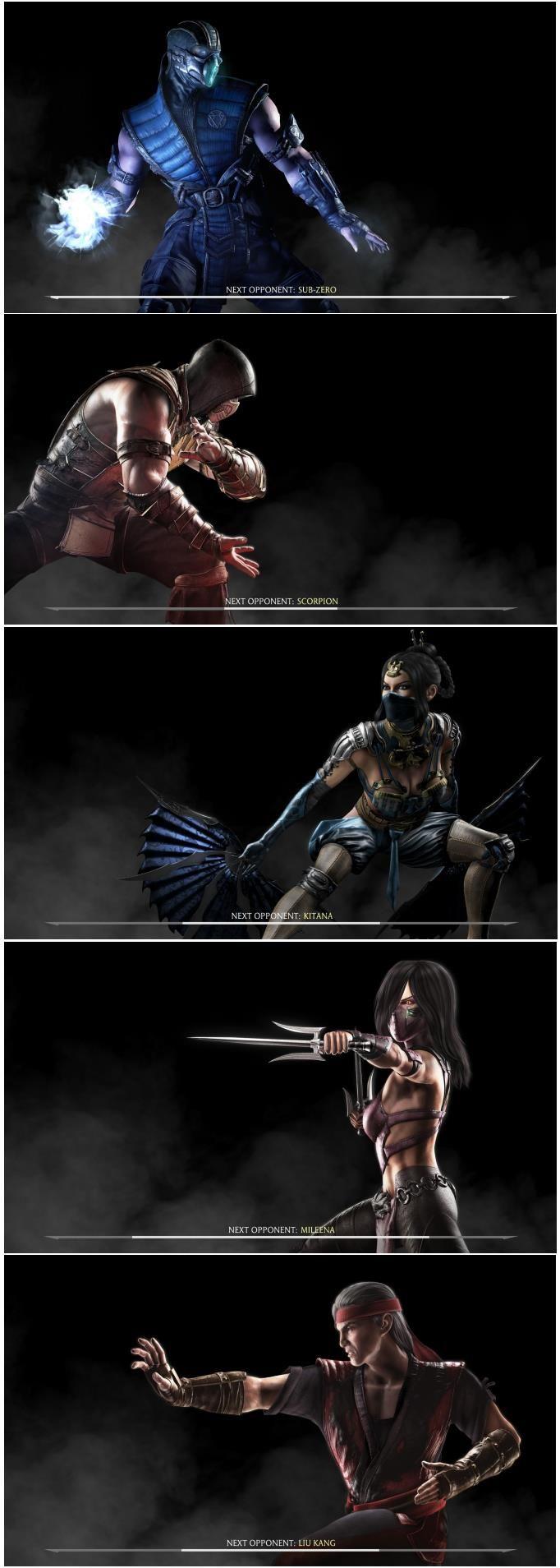 Mortal Kombat X Kast