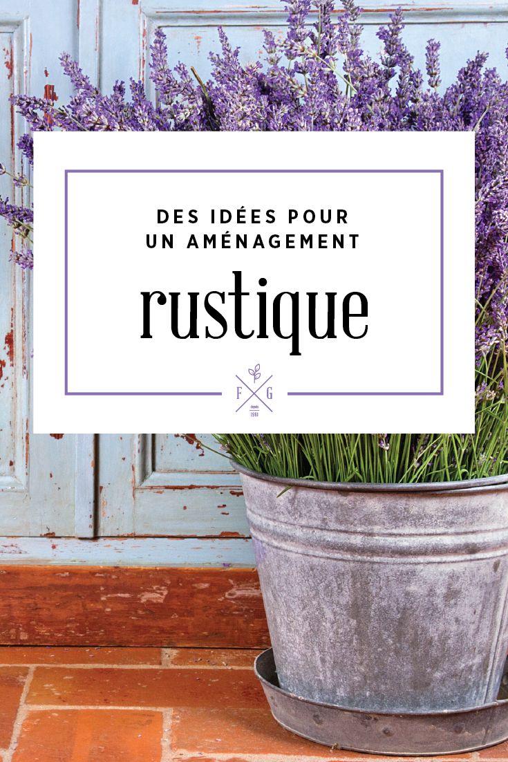 Les 25 meilleures id es de la cat gorie paysage rustique for Decoration jardin rustique