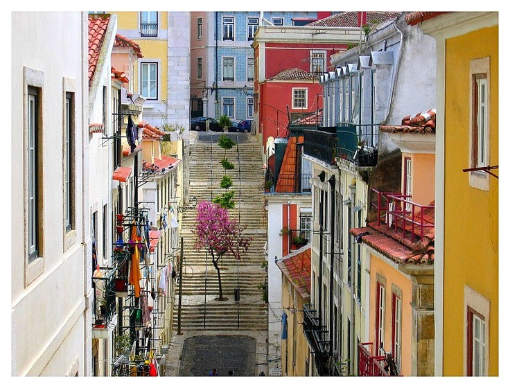 Lisbon - unique colors, Portugal