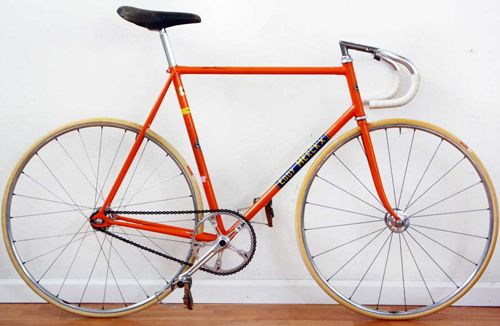 Eddy Merckx Vintage bike... Takes you back in time doesn't it?