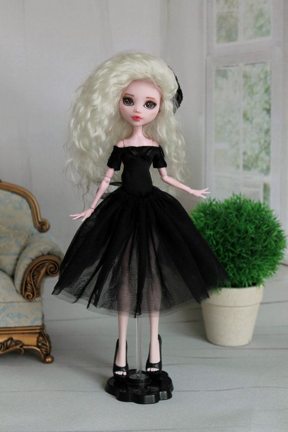Outfit for Monster High  1/6 doll size by ElenaShowRoom on Etsy