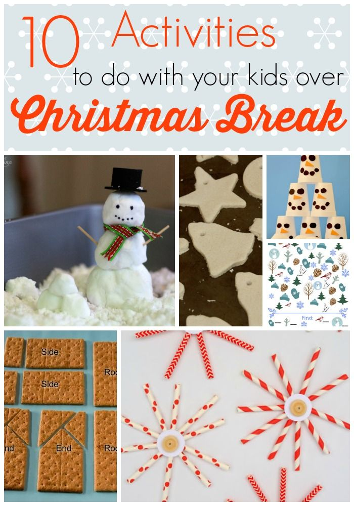 10 Things to Do with Your Kids During Christmas Break
