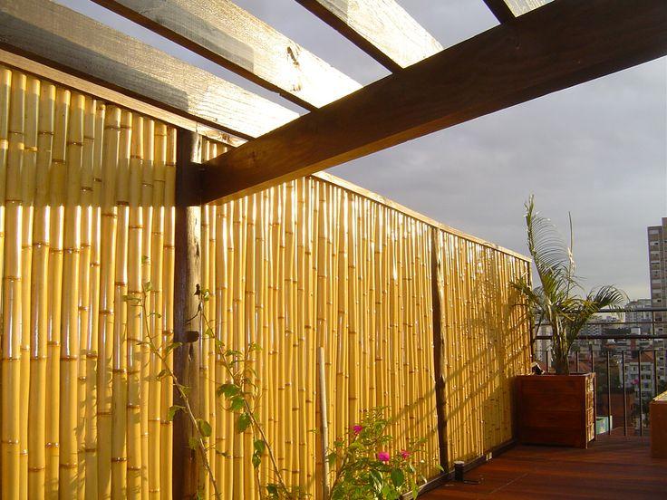 H2BIO - arquitetura e paisagismo » Cerca de Bambu