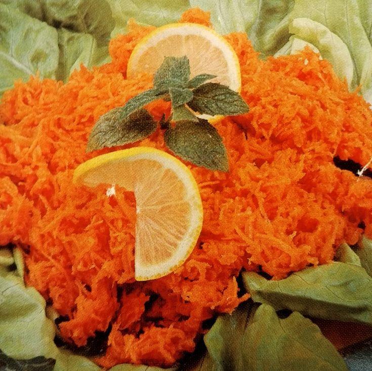 Veľmi zdravý a rýchly mrkvový šalát
