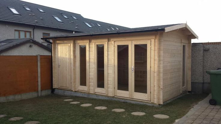 Luxury Log Cabin Fitted On Site