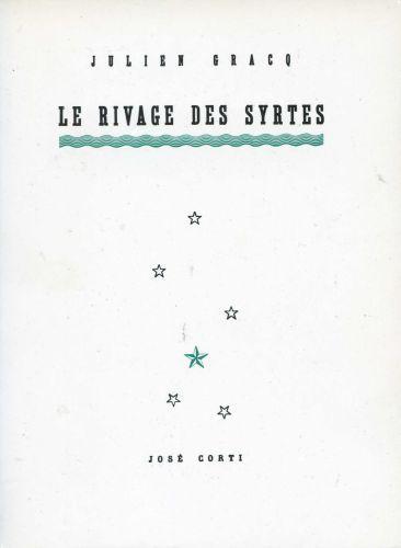 3 décembre 1951 : Julien #Gracq refus le Prix Goncourt pour Le Rivage des Syrtes.  http://manufacturedeslettres.tumblr.com/post/68983064394/publication-de-manufacture-des-lettres